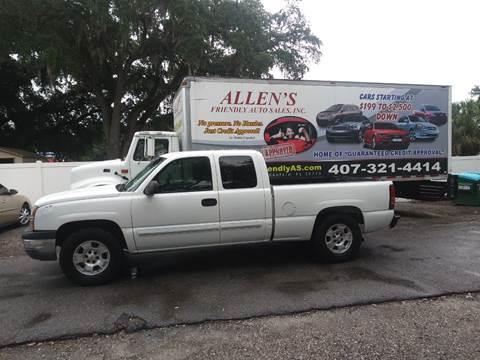 2004 Chevrolet Silverado 1500 Work Truck >> 2004 Chevrolet Silverado 1500 For Sale In Sanford Fl