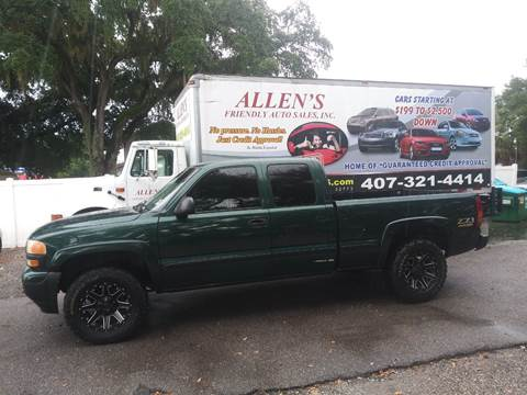 2001 GMC Sierra 1500 for sale in Sanford, FL