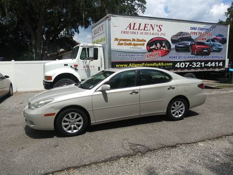 2002 Lexus ES 300 for sale in Sanford, FL