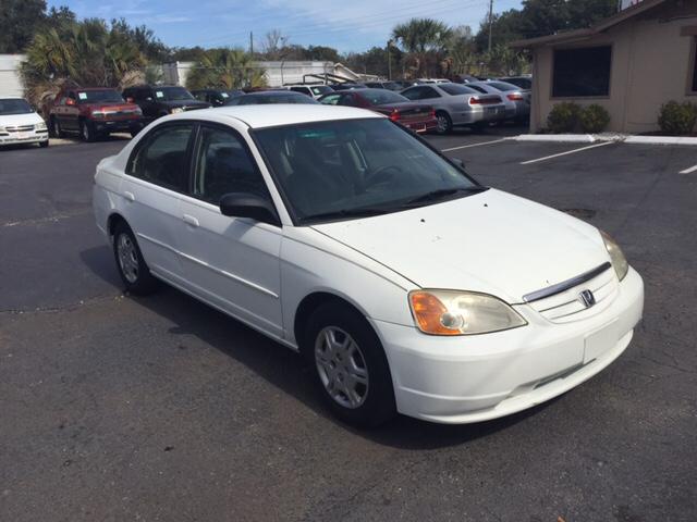 2002 Honda Civic LX 4dr Sedan - Sanford FL