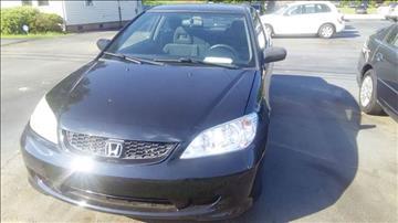 2004 Honda Civic for sale at DJB WHOLESALE in Pendleton SC