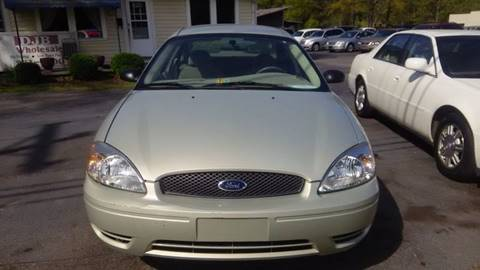 2004 Ford Taurus for sale at DJB WHOLESALE in Pendleton SC
