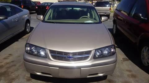 2003 Chevrolet Impala for sale at DJB WHOLESALE in Pendleton SC