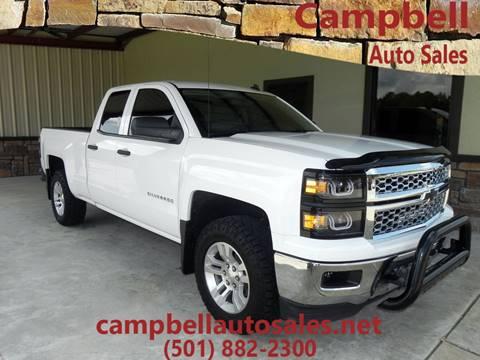 2014 Chevrolet Silverado 1500 for sale in Beebe, AR