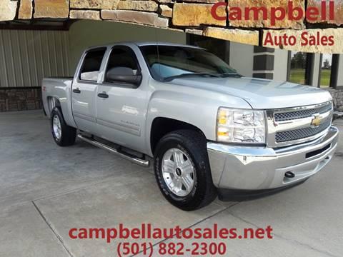 2013 Chevrolet Silverado 1500 for sale in Beebe, AR