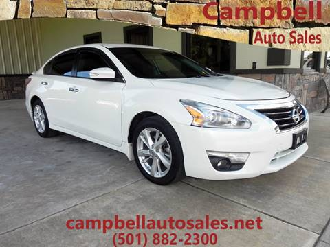 2013 Nissan Altima for sale in Beebe, AR