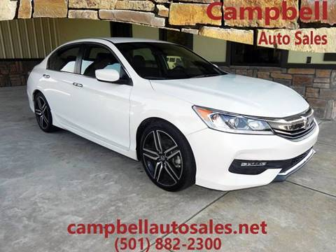 2016 Honda Accord for sale in Beebe, AR
