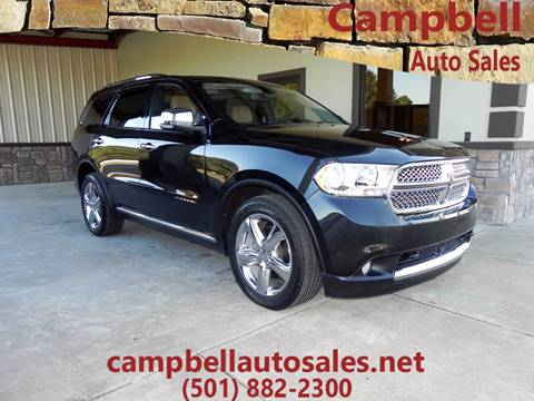 2011 Dodge Durango for sale in Beebe, AR