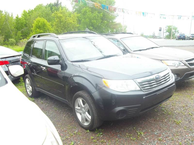 2010 Subaru Forester for sale at Warner's Auto Body of Granville Inc in Granville NY