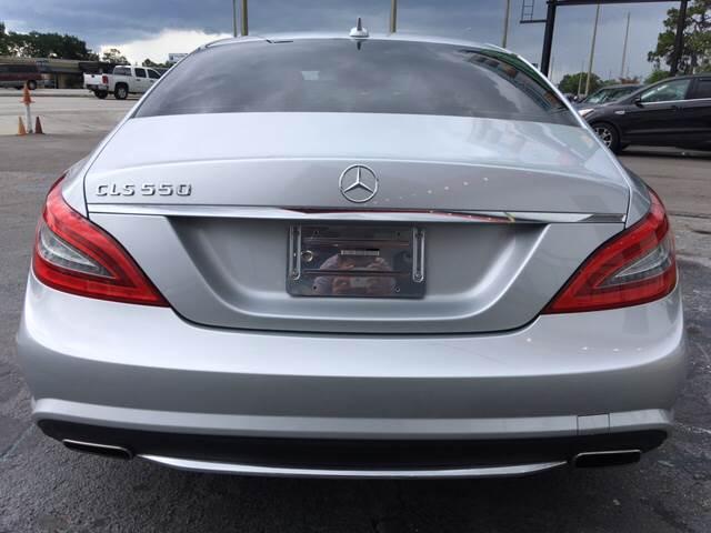 2013 Mercedes Benz Cls Cls 550 4dr Sedan In Orlando Fl