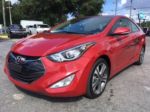 2014 Hyundai Elantra Coupe for sale in Orlando, FL