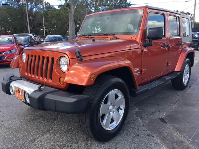 2009 Jeep Wrangler Unlimited 4x4 Sahara 4dr Suv In Orlando