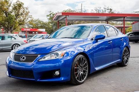 2013 Lexus IS F For Sale In Orlando, FL