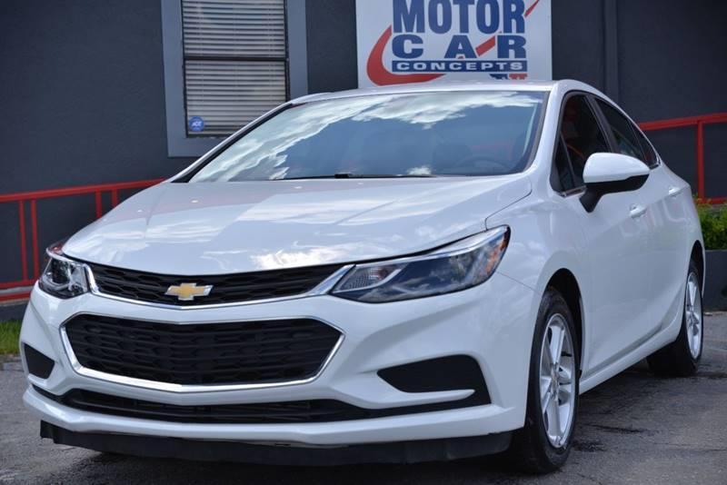 2018 Chevrolet Cruze Lt Auto 4dr Sedan In Orlando Fl Motor Car