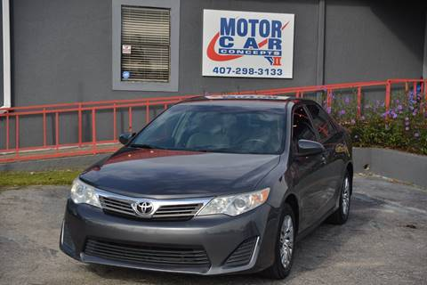 2012 Toyota Camry for sale at Motor Car Concepts II - Colonial Location in Orlando FL