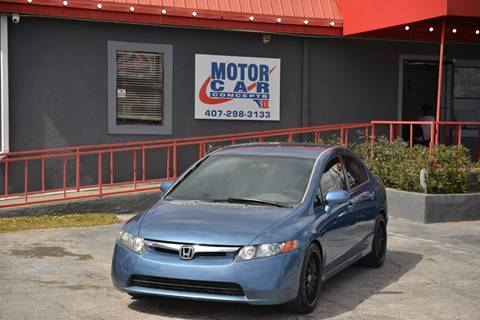 2006 Honda Civic for sale at Motor Car Concepts II - Kirkman Location in Orlando FL
