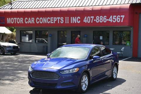 2014 Ford Fusion for sale at Motor Car Concepts II - Apopka Location in Apopka FL