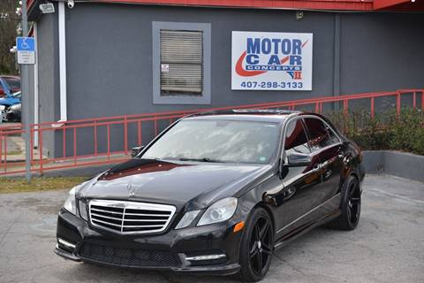 2013 Mercedes-Benz E-Class for sale at Motor Car Concepts II - Apopka Location in Apopka FL
