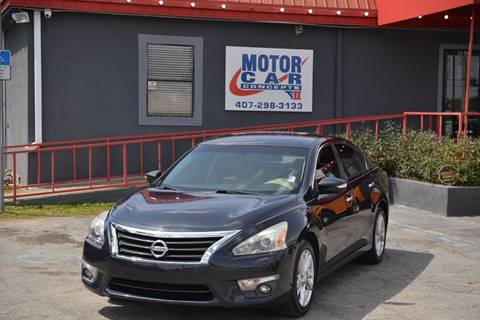 2014 Nissan Altima for sale at Motor Car Concepts II - Kirkman Location in Orlando FL