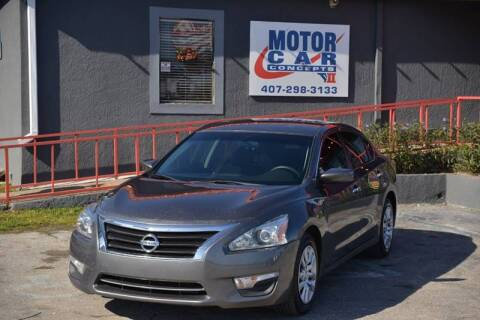 2015 Nissan Altima for sale at Motor Car Concepts II - Apopka Location in Apopka FL