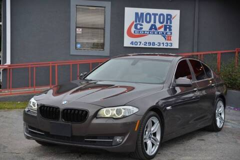 2013 BMW 5 Series for sale at Motor Car Concepts II - Kirkman Location in Orlando FL