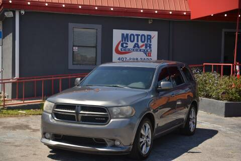 2011 Dodge Durango for sale at Motor Car Concepts II - Kirkman Location in Orlando FL