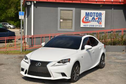 2016 Lexus IS 350 for sale at Motor Car Concepts II - Kirkman Location in Orlando FL
