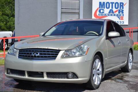 2007 Infiniti M45 for sale at Motor Car Concepts II - Kirkman Location in Orlando FL