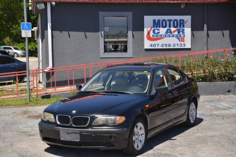 2003 BMW 3 Series for sale at Motor Car Concepts II - Kirkman Location in Orlando FL