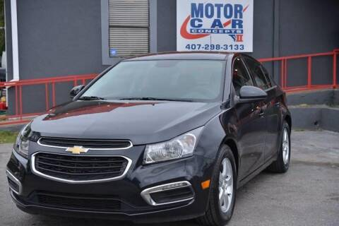 2016 Chevrolet Cruze Limited for sale at Motor Car Concepts II - Apopka Location in Apopka FL