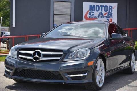 2012 Mercedes-Benz C-Class for sale at Motor Car Concepts II - Colonial Location in Orlando FL
