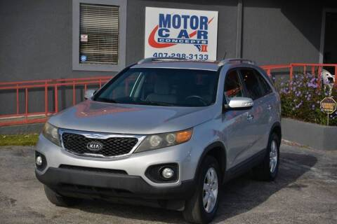 2011 Kia Sorento for sale at Motor Car Concepts II - Kirkman Location in Orlando FL