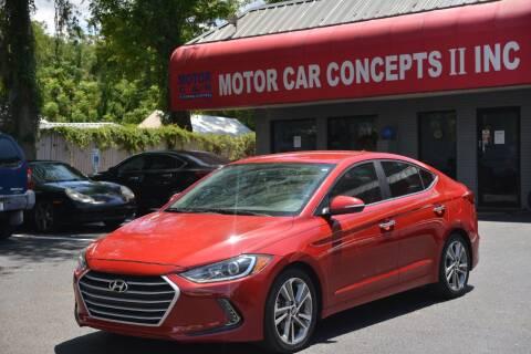 2017 Hyundai Elantra for sale at Motor Car Concepts II - Colonial Location in Orlando FL