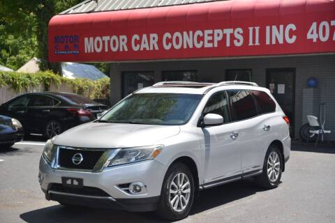 2014 Nissan Pathfinder for sale at Motor Car Concepts II - Apopka Location in Apopka FL