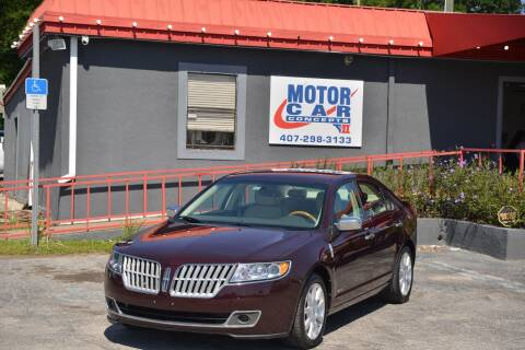 2012 Lincoln MKZ Hybrid for sale at Motor Car Concepts II - Kirkman Location in Orlando FL