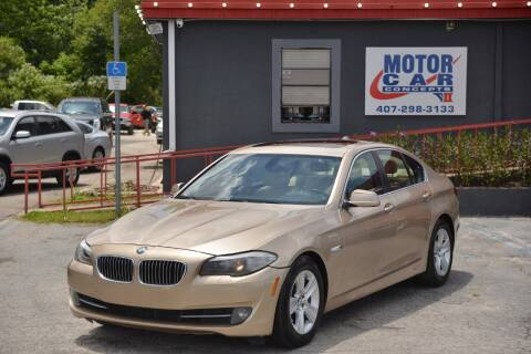 2011 BMW 5 Series for sale at Motor Car Concepts II - Kirkman Location in Orlando FL
