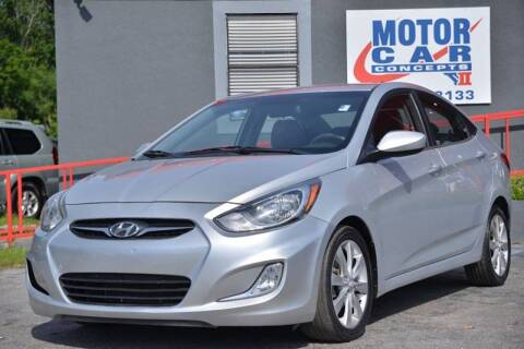 2012 Hyundai Accent for sale at Motor Car Concepts II - Kirkman Location in Orlando FL