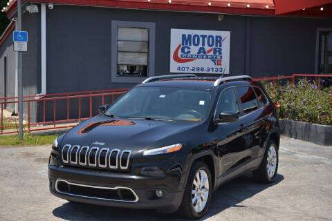 2014 Jeep Cherokee for sale at Motor Car Concepts II - Kirkman Location in Orlando FL