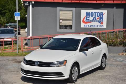 2016 Volkswagen Jetta for sale at Motor Car Concepts II - Kirkman Location in Orlando FL