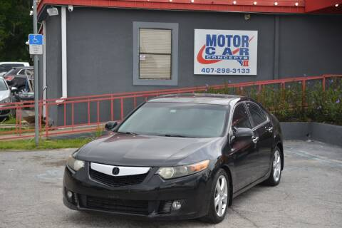 2010 Acura TSX for sale at Motor Car Concepts II - Kirkman Location in Orlando FL