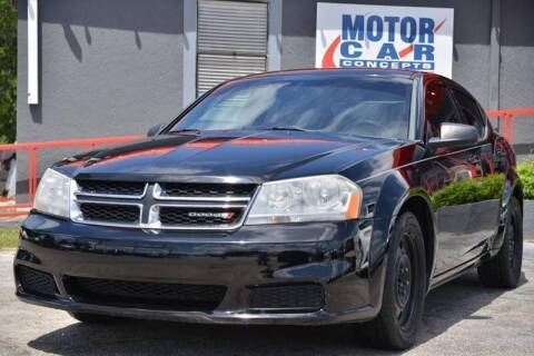 2012 Dodge Avenger for sale at Motor Car Concepts II - Kirkman Location in Orlando FL