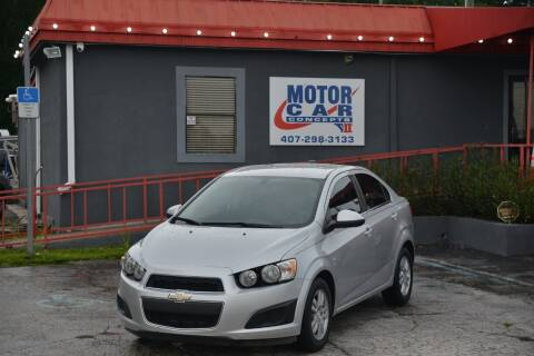 2015 Chevrolet Sonic for sale at Motor Car Concepts II - Kirkman Location in Orlando FL