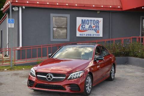 2019 Mercedes-Benz C-Class for sale at Motor Car Concepts II - Colonial Location in Orlando FL