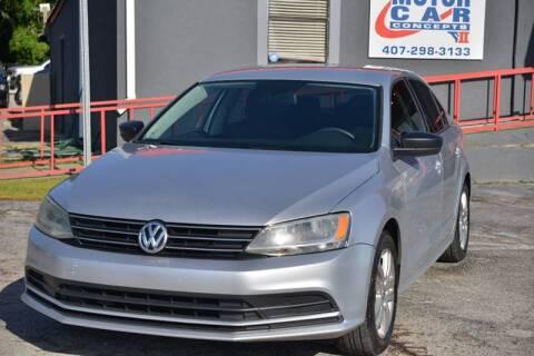 2015 Volkswagen Jetta for sale at Motor Car Concepts II - Colonial Location in Orlando FL