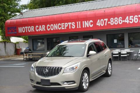 2014 Buick Enclave for sale at Motor Car Concepts II - Apopka Location in Apopka FL