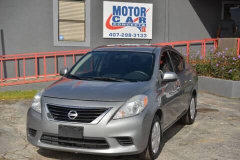 2014 Nissan Versa for sale at Motor Car Concepts II - Apopka Location in Apopka FL