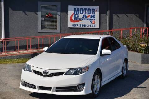 2012 Toyota Camry for sale at Motor Car Concepts II - Kirkman Location in Orlando FL