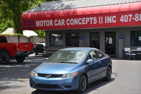2007 Honda Civic for sale at Motor Car Concepts II - Apopka Location in Apopka FL