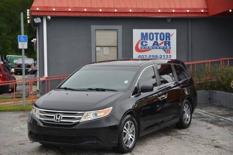 2012 Honda Odyssey for sale at Motor Car Concepts II - Kirkman Location in Orlando FL