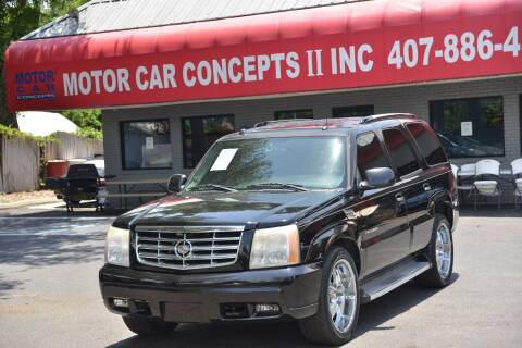 2005 Cadillac Escalade for sale at Motor Car Concepts II - Apopka Location in Apopka FL